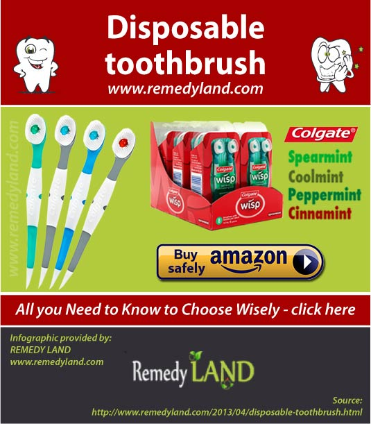 disposable toothbrush