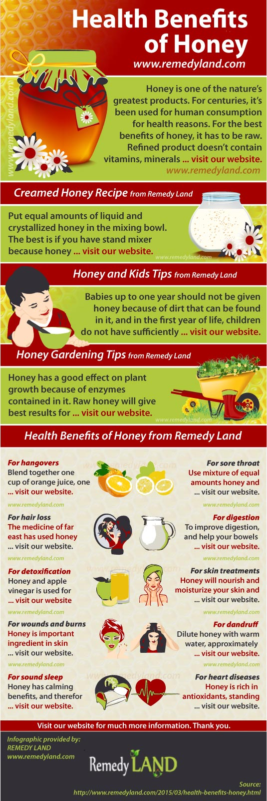 health benefits honey