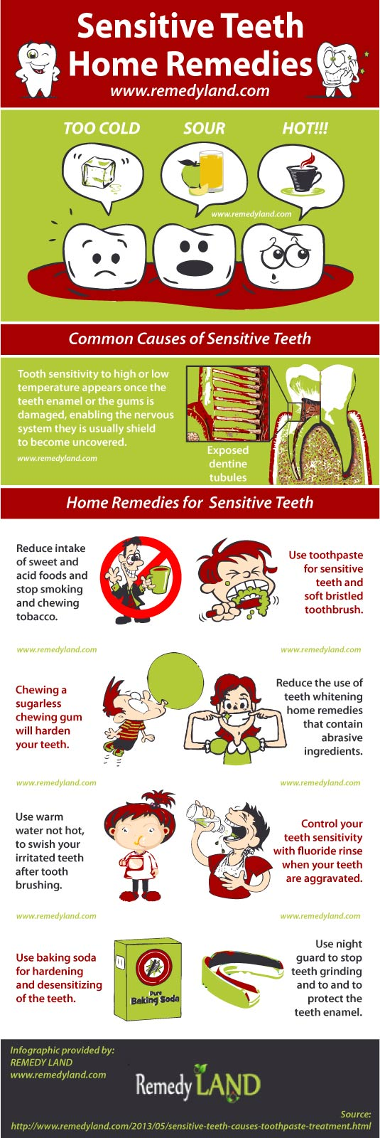 sensitive teeth home remedies