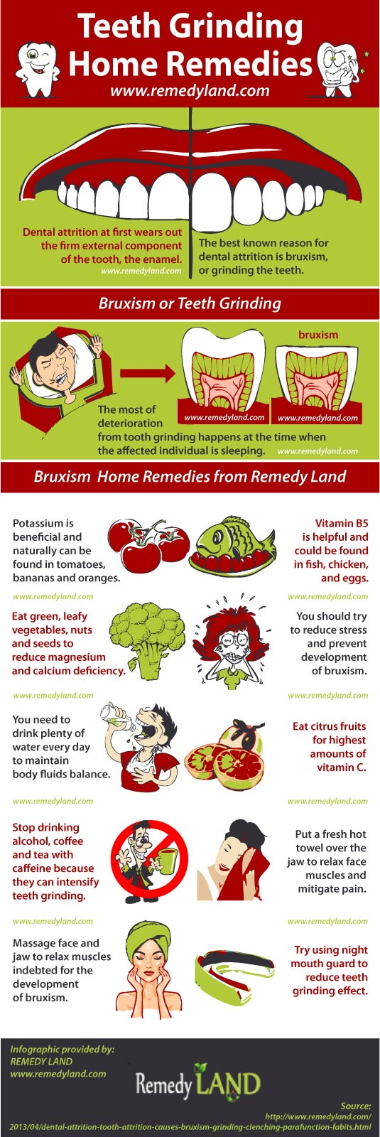 teeth grinding home remedies